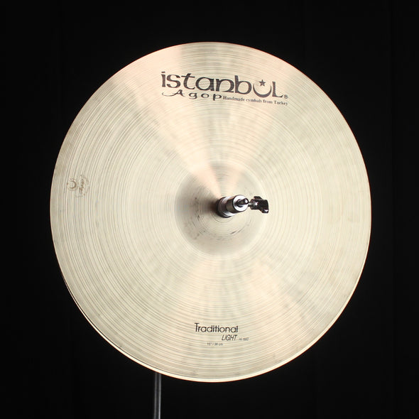 "Istanbul Agop 15"" Traditional Light Hi Hats - 1033g/1234g"