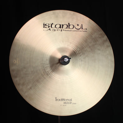 "Istanbul Agop 17"" Traditional Medium Crash - 1216g"