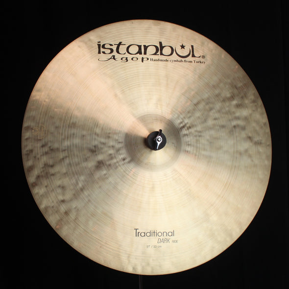 "Istanbul Agop 21"" Traditional Dark Ride - 2106g"