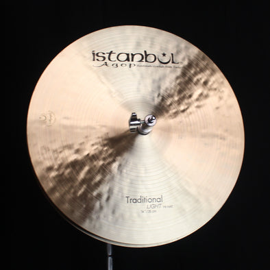 "Istanbul Agop 14"" Traditional Light Hi Hats - 911g/1114g"