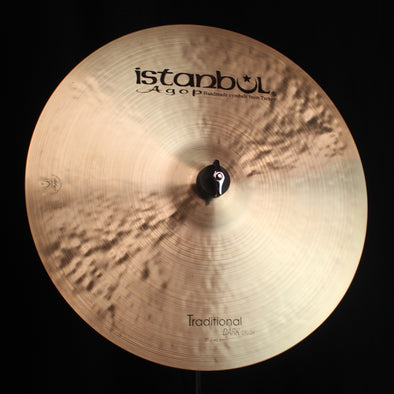 "Istanbul Agop 17"" Traditional Dark Crash - 1162g"