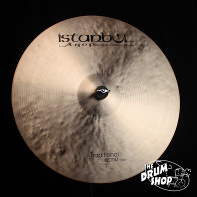 "Istanbul Agop 20"" Traditional Medium Crash - 1804g (video demo)"