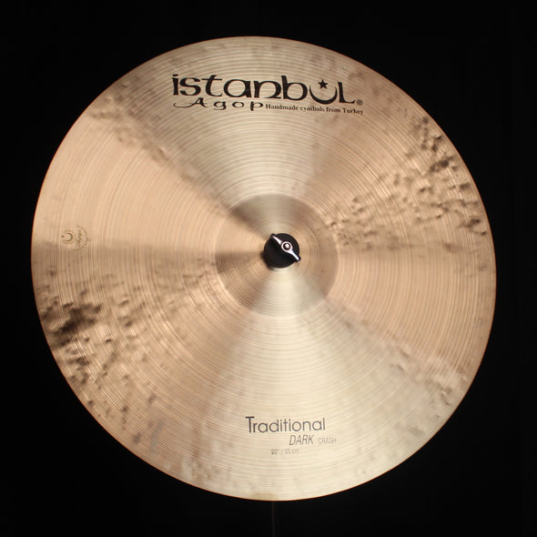 "Istanbul Agop 22"" Traditional Dark Crash - 2059g"