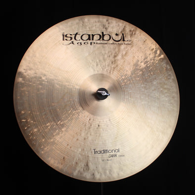 "Istanbul Agop 22"" Traditional Dark Crash - 2110g"