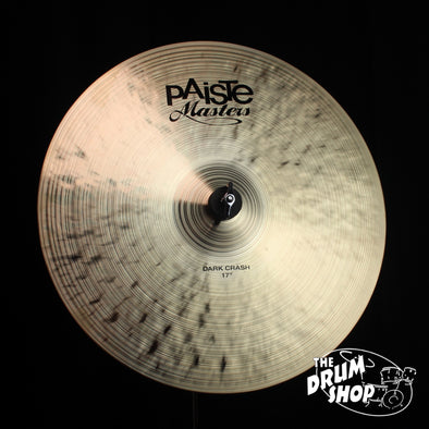 "Paiste 17"" Masters Dark Crash"