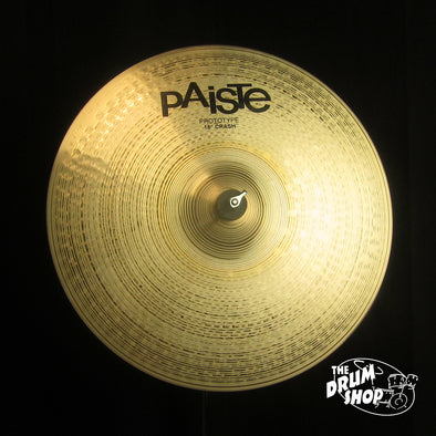 "Paiste 18"" Prototype Signature Dark Energy Crash - 1783g"