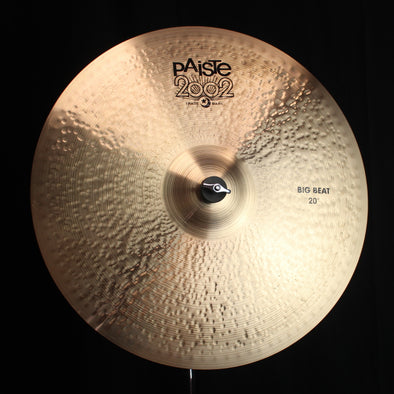 "Paiste 20"" 2002 Black Big Beat - 1761g"
