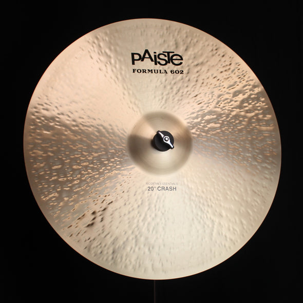 "Paiste 20"" Formula 602 Modern Essentials Crash - 2007g"