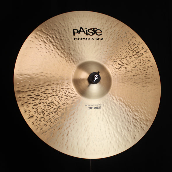 "Paiste 20"" Formula 602 Modern Essentials Ride - 2344g"
