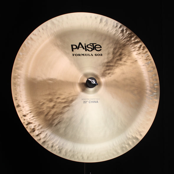 "Paiste 22"" Formula 602 Modern Essentials China - 1986g"