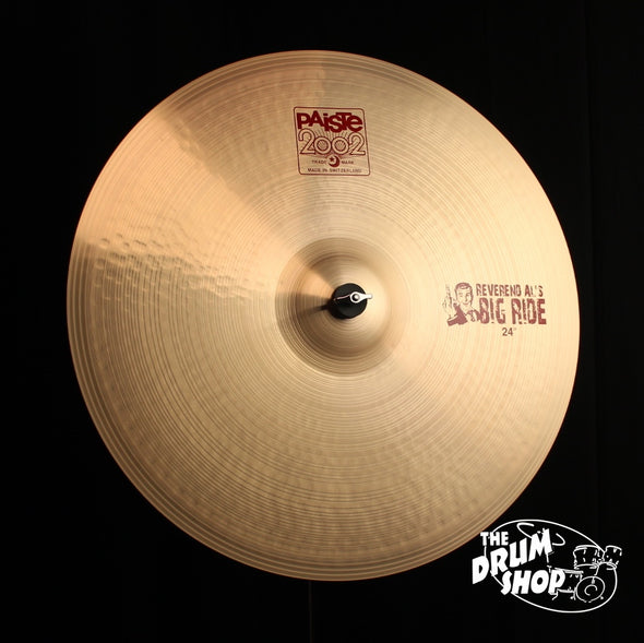 "Paiste 24"" 2002 Reverend Al's Big Ride"