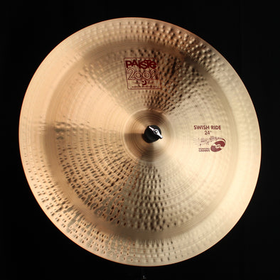 "Paiste 24"" 2002 Swish Ride - 2998g (video demo)"