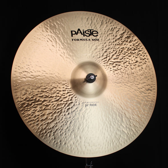 "Paiste 24"" Formula 602 Modern Essentials Ride - 3946g"