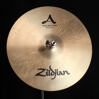 "Used Zildjian 14"" A Quick Beat Hi Hats - 1151g/1477g"