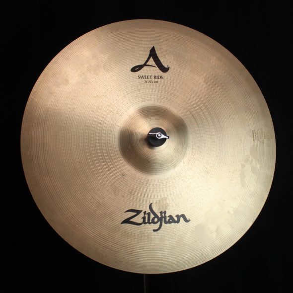 "Used Zildjian 21"" A Sweet Ride - 2437g"
