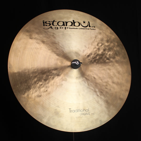 "Used Istanbul Agop 21"" Traditional Original Ride - 2087g"