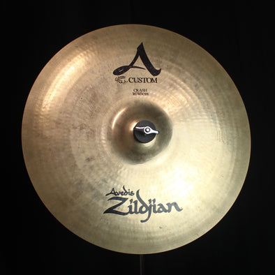 "Used Zildjian 16"" A Custom Crash - 1102g"