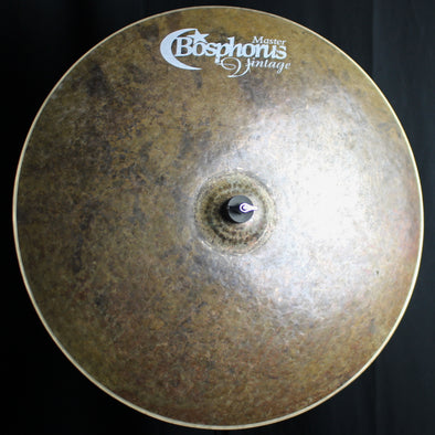 "Bosphorus 24"" Master Vintage Ride - 2460g (video demo)"