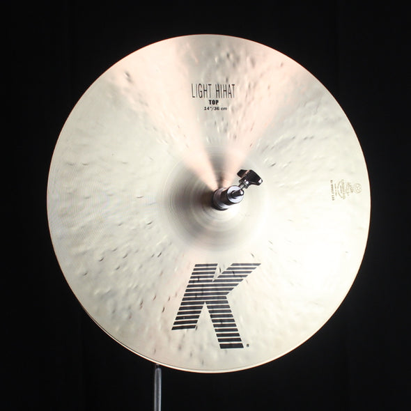 "Zildjian 14"" K Light Hi Hats - 945g/1158g"