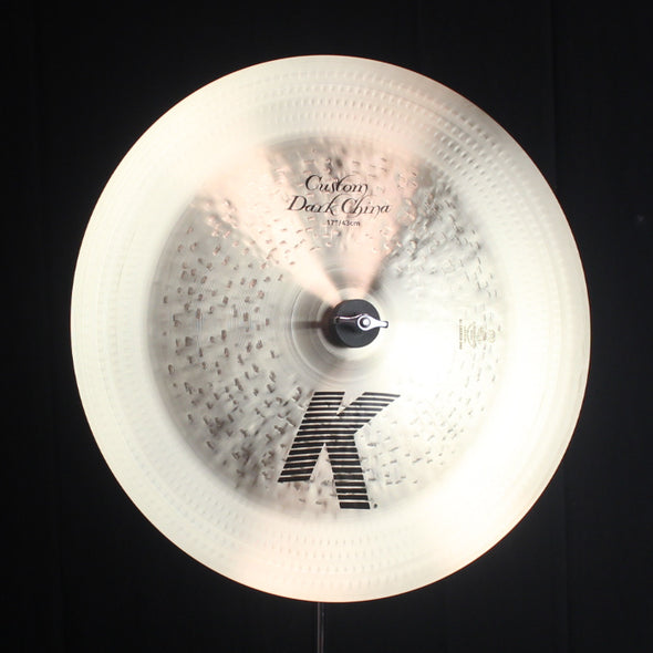"Zildjian 17"" K Custom Dark China - 1038g"