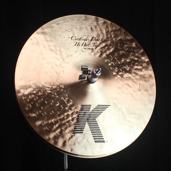 "Zildjian 14"" K Custom Dark Hi Hats - 1001g/1198g"
