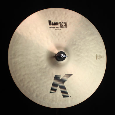 "Zildjian 16"" K Dark Medium Thin Crash - 1078g"
