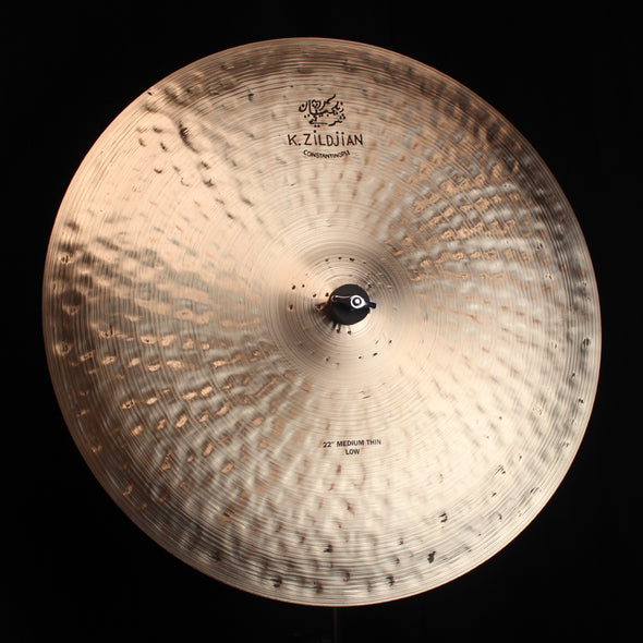 "Zildjian 22"" K Constantinople Medium Thin Low Ride - 2558g"