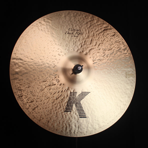 "Zildjian 22"" K Custom Dark Ride - 2603g"