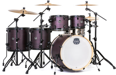 Mapex Armory 6-Piece Studioease Shell Pack Purple Haze 22,10,12,14,16,5.5x15