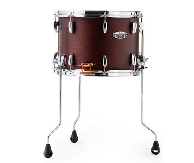 "Pearl Modern Utility 14""x10"" Floor Snare in Satin Brown MUS1410FM"