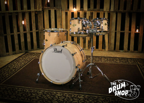 Pearl Masters Maple Shell Pack in Birdseye Maple 22-10-12-16