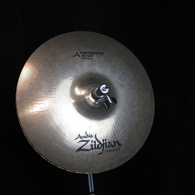 "USED Zildjian 13"" A Brilliant Mastersound Hi Hats"