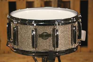 Pearl Masters Maple Snare Drum Sparkle Finish