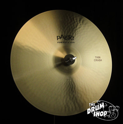 "Paiste 16"" Formula 602 Classic Thin Crash -962 grams"