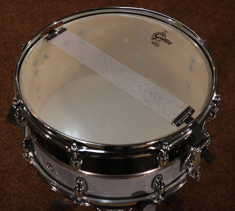 Gretsch RetroLuxe Snare Drum Pewter/Black