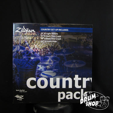 Zildjian K Country Music Pack - DEMO MODEL