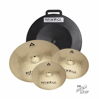 Istanbul Agop Xist Series Power Cymbal Set (video demo)