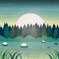 Calming meditation music with piano, cello, and forest sounds.