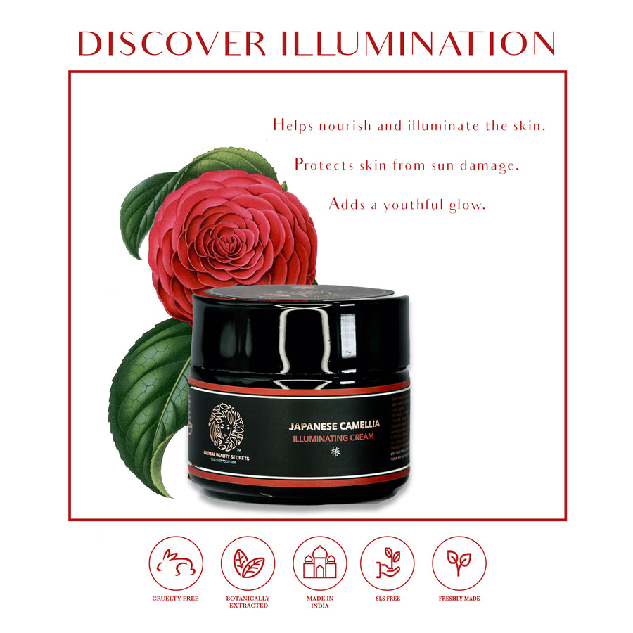 Japanese Camelia Illuminating Cream