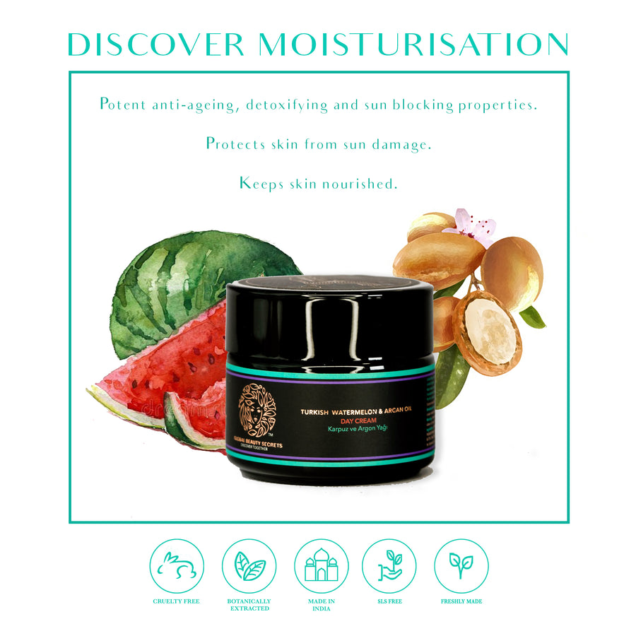 Turkish Watermelon and Argan Oil Day Cream