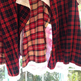 Autumn Plaid | Embroidered Cotton - in 2 colors!