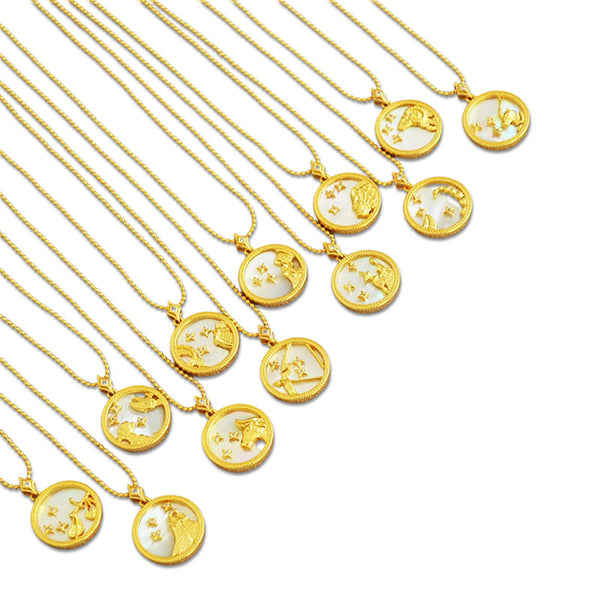 Horoscope |18K Gold Plated Necklace
