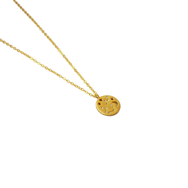 Zodiac Constellation|18K Gold Plated Necklace