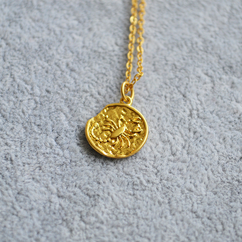 Medallion Star Sign|18K Gold Plated Necklace