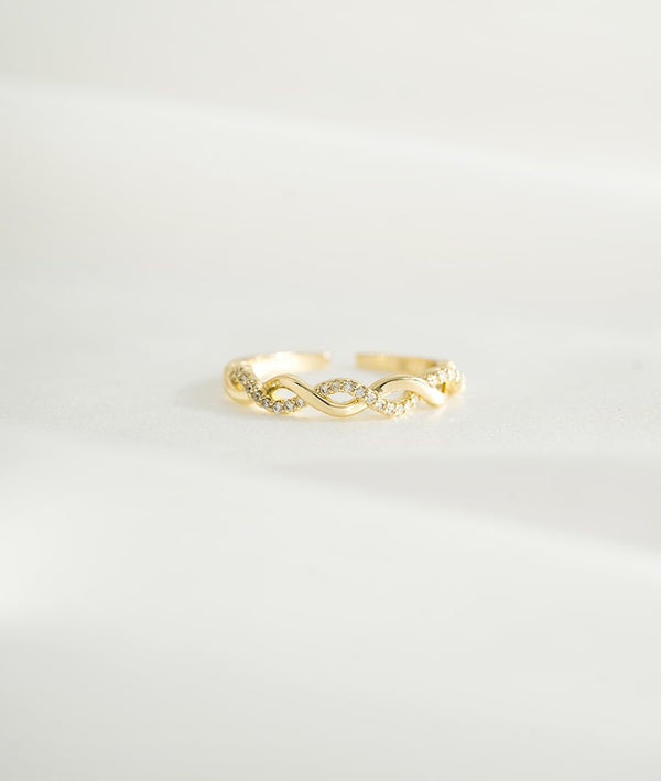 Infinite Love Ring II | Open Ring