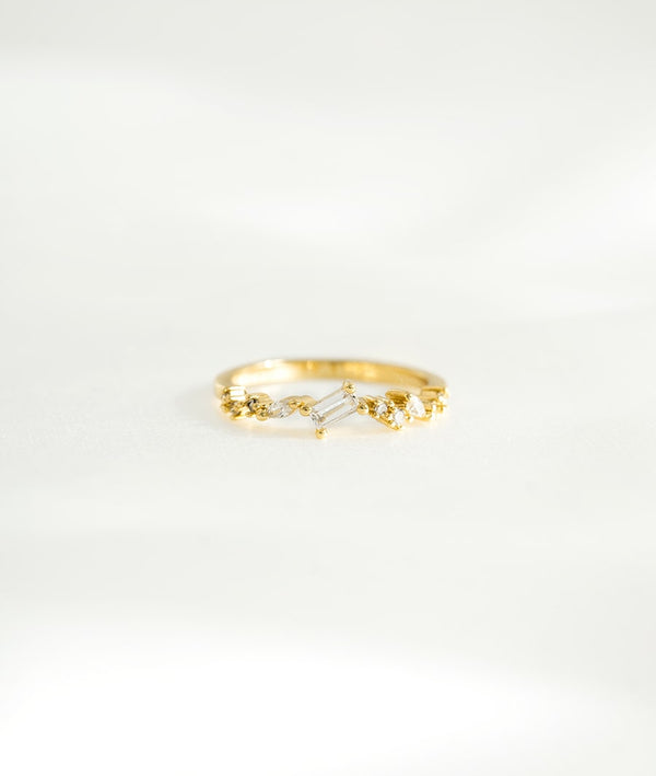 Simone | 14K Gold Plated Ring