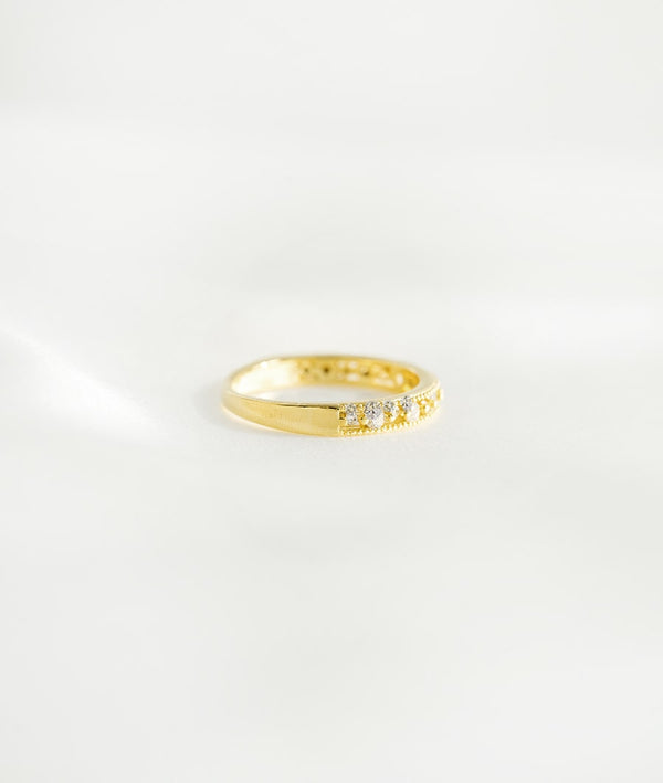 Radiant Angel | 14K Gold Plated Ring