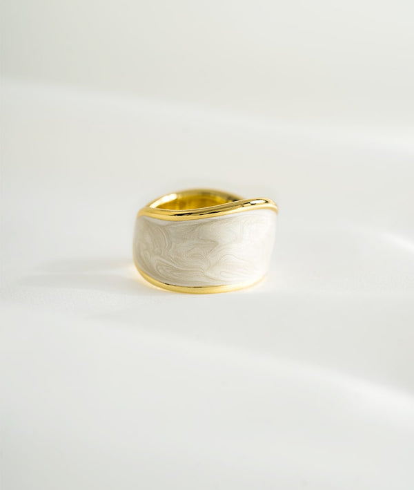 Mother of Pearl | Open Ring