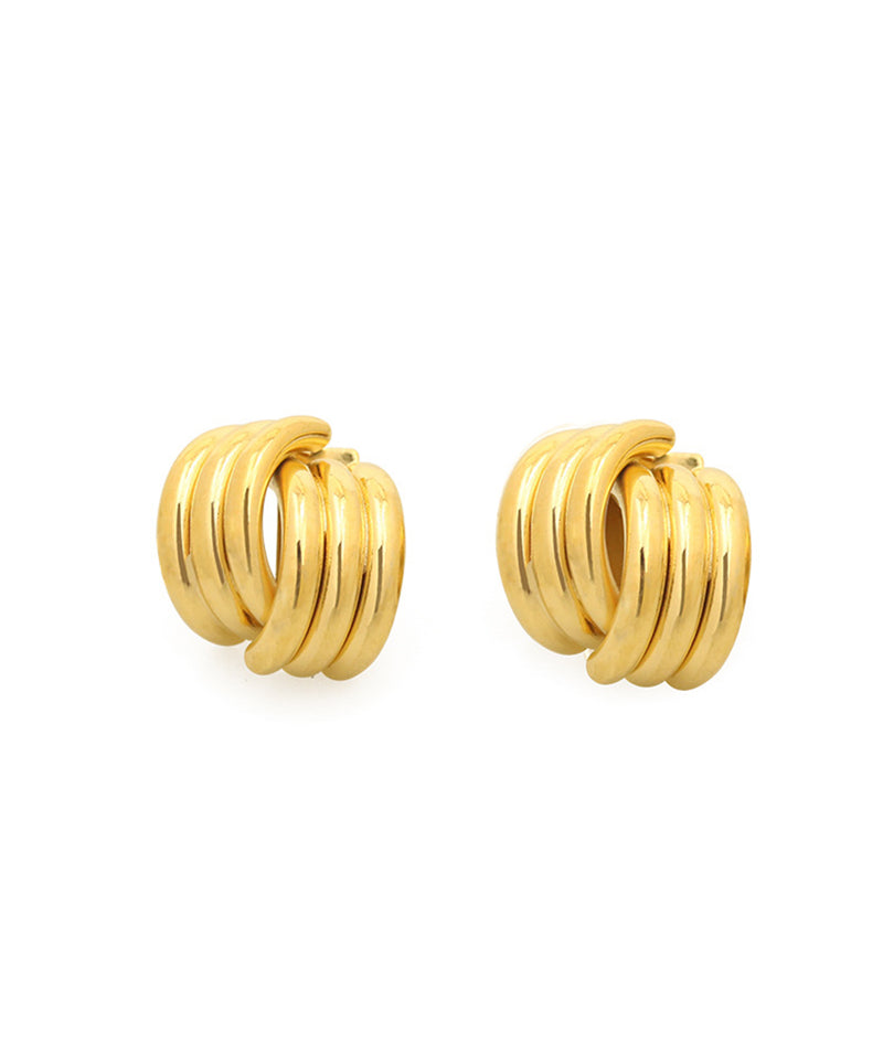 Linear Design Earrings