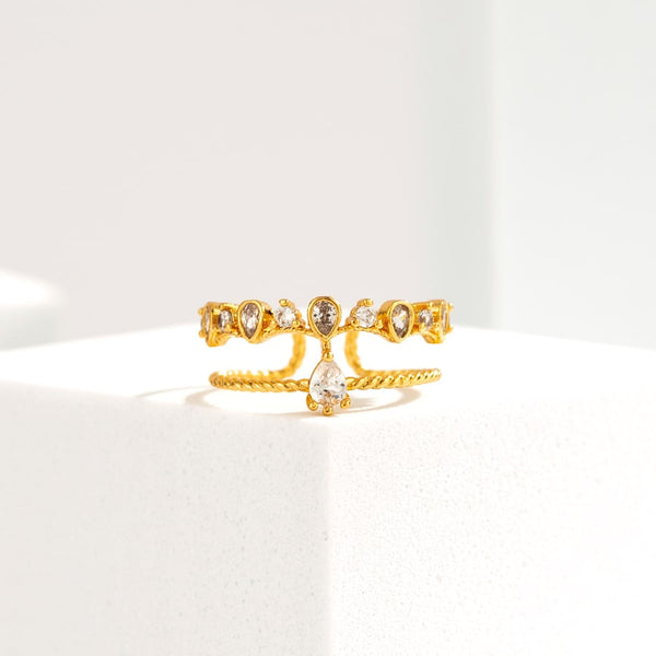Wedding Tiara Ring
